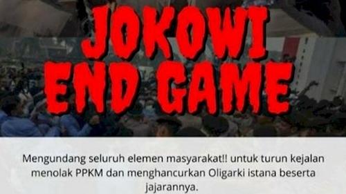 "Aksi ""Jokowi End Game"" Ternyata Tidak Ada, BIN Minta Masyarakat Waspadai Konten Medsos Provokatif"