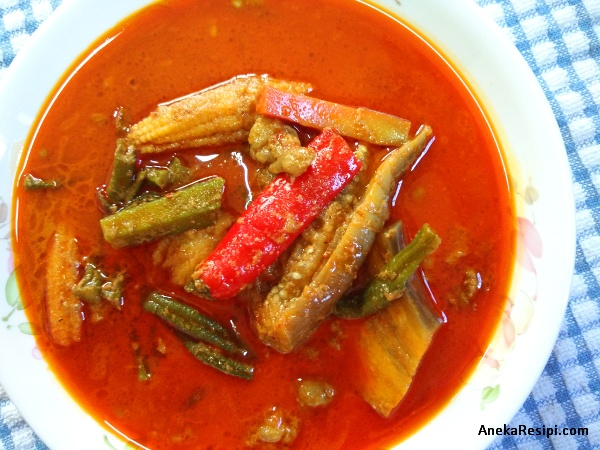dalca daging, ayam atau sayur ala Kelantan yang sedap