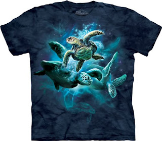 The Mountain Sea Turtles T-Shirt