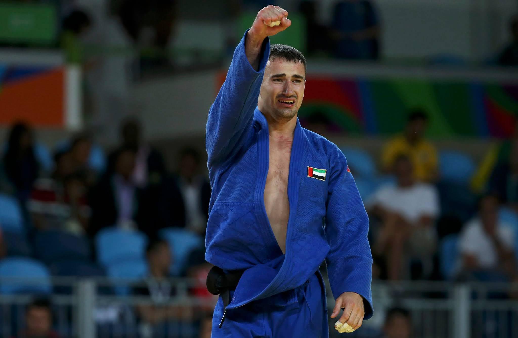 Sergiu Toma comemora medalha na Rio 2016
