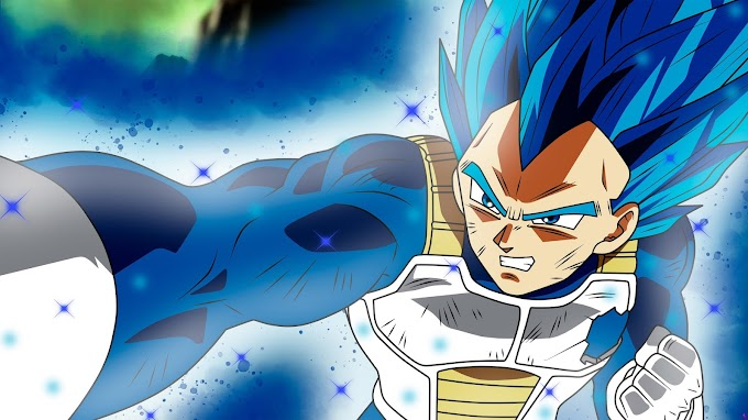 Super Vegeta SSJ Blue