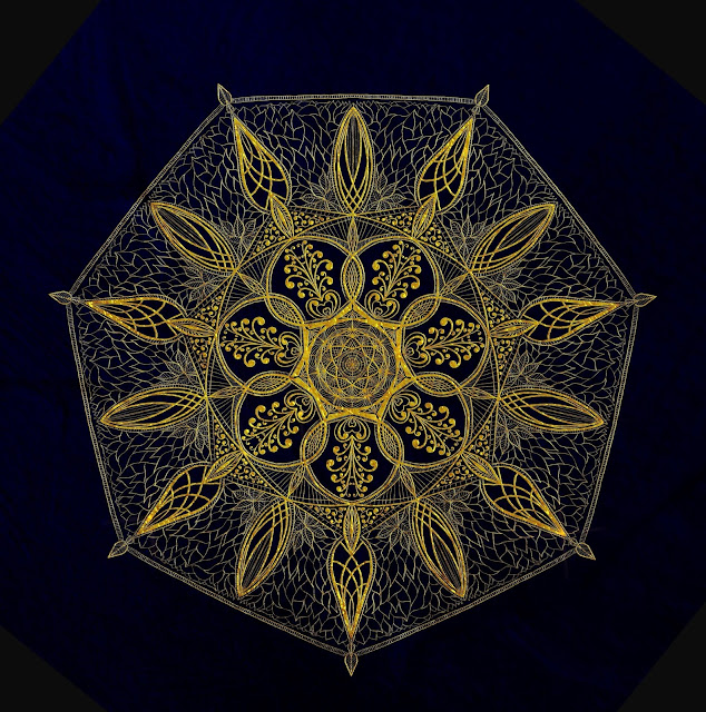 symmetrical art, mark taylor, Beechhouse Media, iornament, ipad art,
