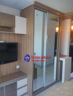 interior design apartemen casa de parco type studio