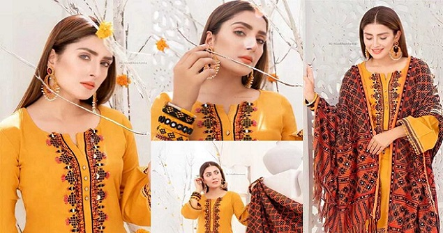 Ayeza Khan New One Photoshoot For Winter Collection