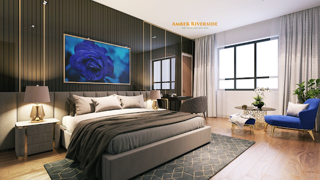Phòng ngủ dự án Amber Minh Khai