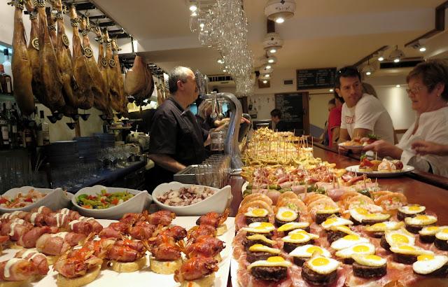 What is San Sebastián famous for? Pintxos!