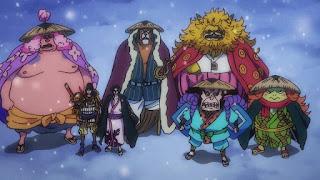 ワンピースアニメ 993話 ワノ国編   ONE PIECE 赤鞘の侍