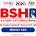 Bantuan Sara Hidup Rakyat (BSH) 2020 - Belanjawan 2020