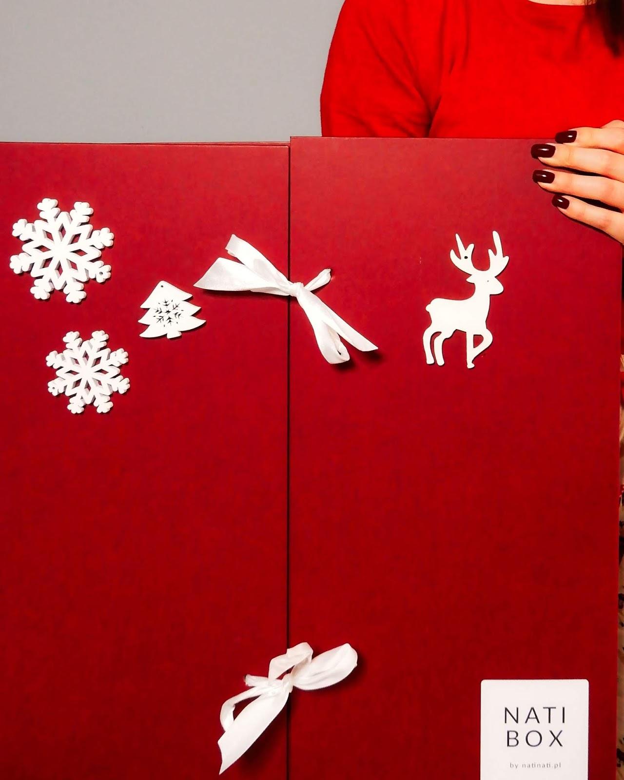 Kalendarz Adwentowy z Naturalnymi kosmetykami Beauty Inside, Nati Box, drogeria NatiNati,
