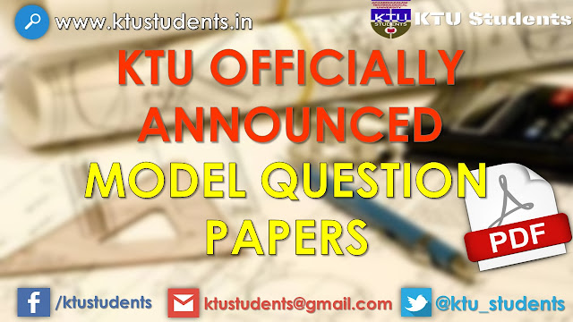 ktu s4 question papers