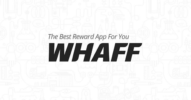 candukoding - trik cepat dapat dollar di aplikasi whaff rewards tanpa hack