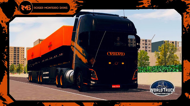 Skins WTDS, Skins Volvo FH, Volvo FH Qualificado, Skins World Truck