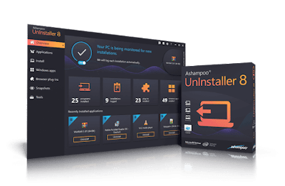 Ashampoo Uninstaller 8 full version, license key, serial, discount coupon code
