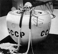 La capsula di atterraggio della sonda Venera 4.