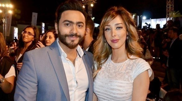 مصر: علي خطة عائشة عطية ... طلاق تامر حسني وبسمة بوسيل مجرد دعاية للترويج لألبومه الجديد !