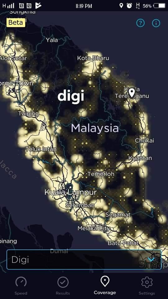 Coverage telco di malaysia