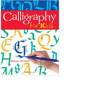 Calligraphy workbook for kids