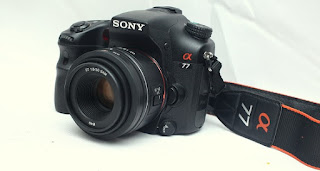 Jual 2nd Sony Alpha SLT A77V