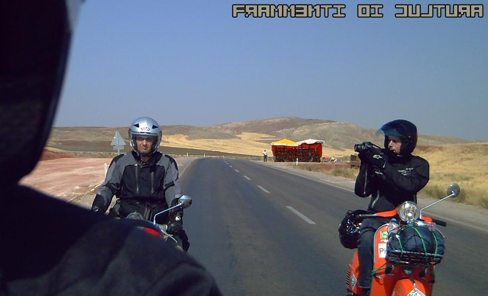 Viaggio in Iran in Vespa