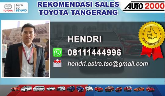 Rekomendasi Sales Toyota Auto2000 BSD