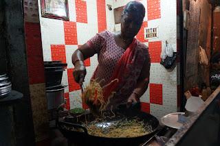 Penjual Chow Mien di New Market
