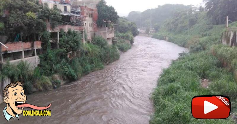 Rescatan cadáver de mujer arrastrada por el Río Guaire