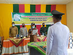 Kapolsek Birem Bayeun Hadiri Pelantikan Geuchik Gampong Blang Tualang