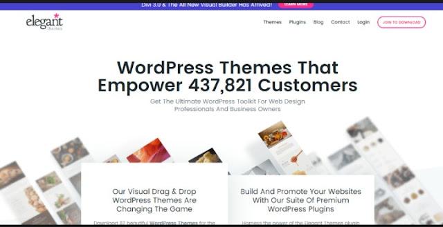 Best  WordPress Themes Marketplaces