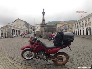 Ponto de carimbo do passaporte Estrada Real. Ouro Preto/MG.
