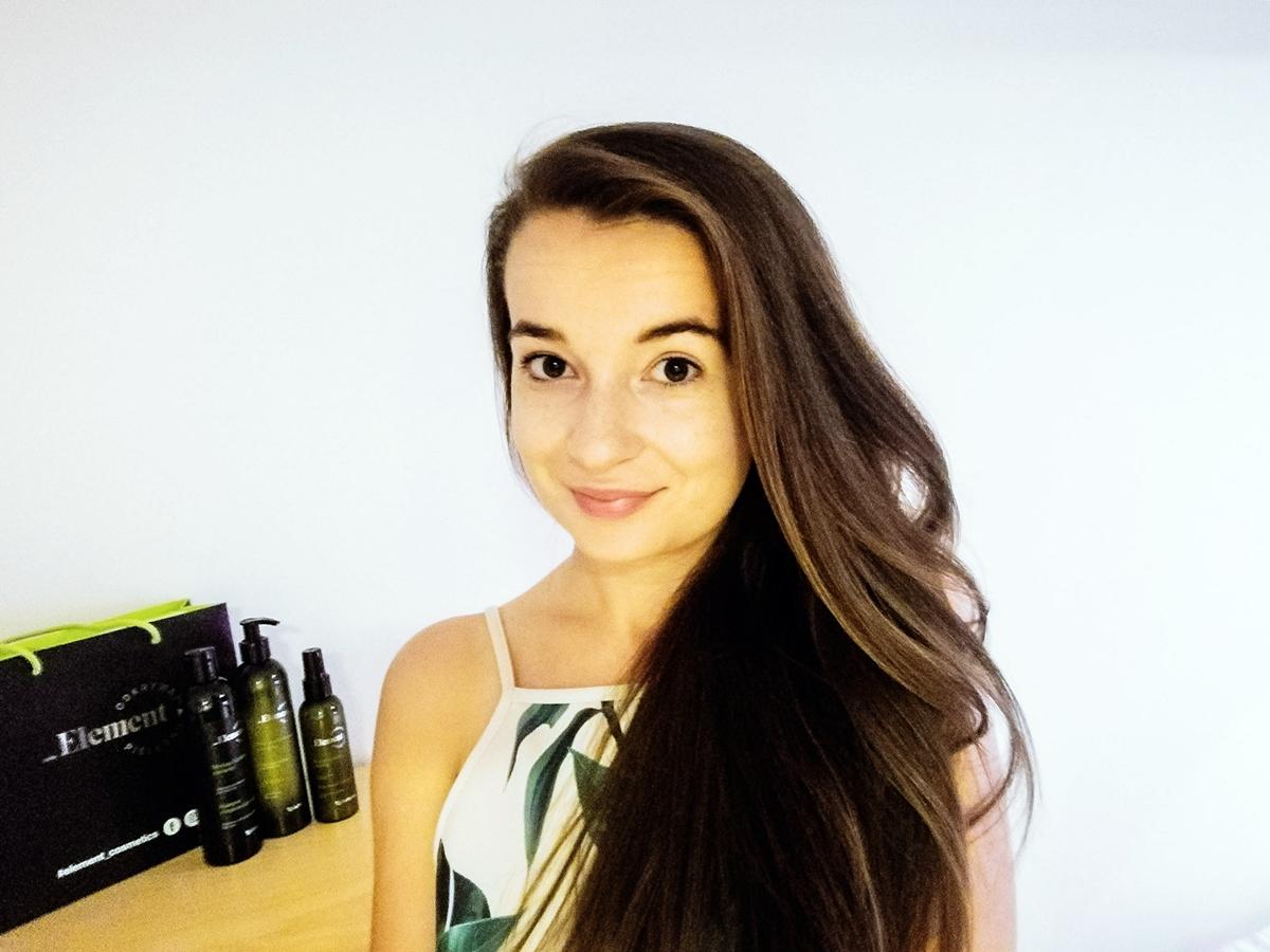 Jak dbać o długie włosy Element Cosmetics