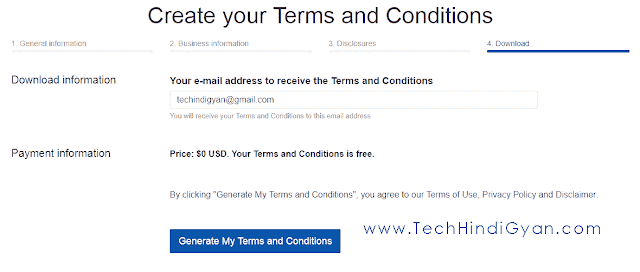 Terms And Conditions Page कैसे बनाये ब्लॉग या वेबसाइट के लिए | How To Make Terms and Conditions Page For Blog