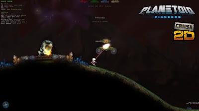 Planetoid Pioneers Gameplay