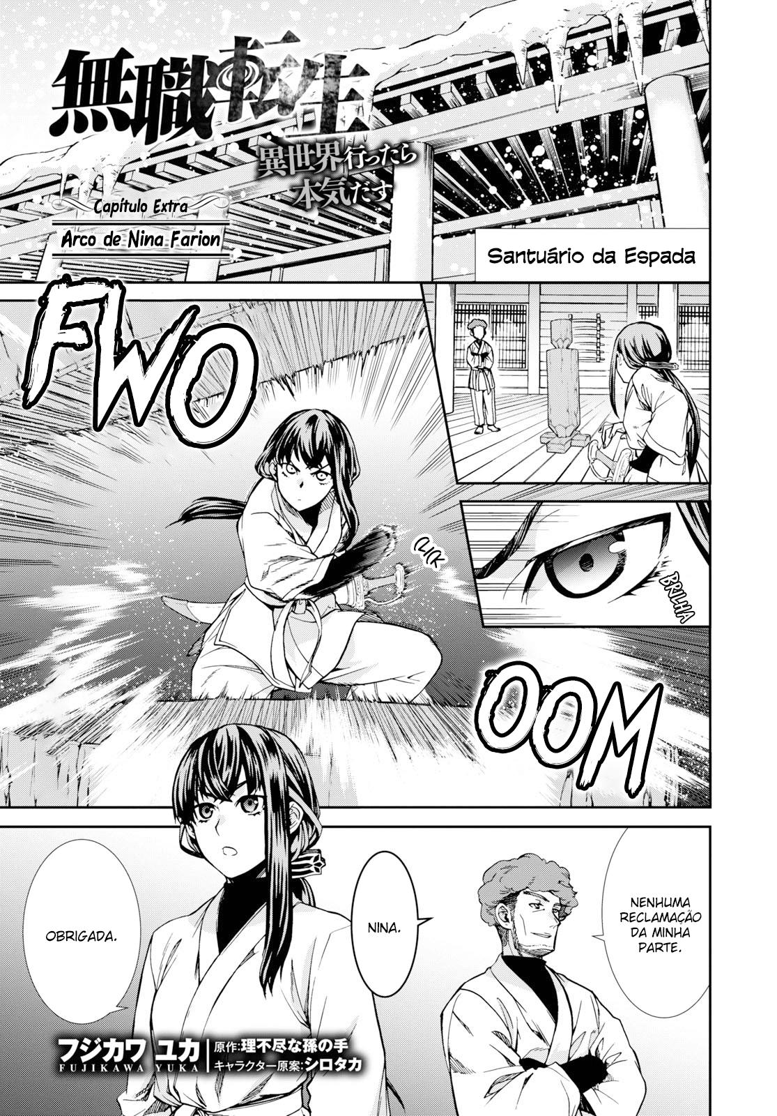 Mushoku Tensei: Isekai Ittara Honki Dasu / Mushoku Tensei: Jobless Reincarnation Mangá Online Capítulo 60-5