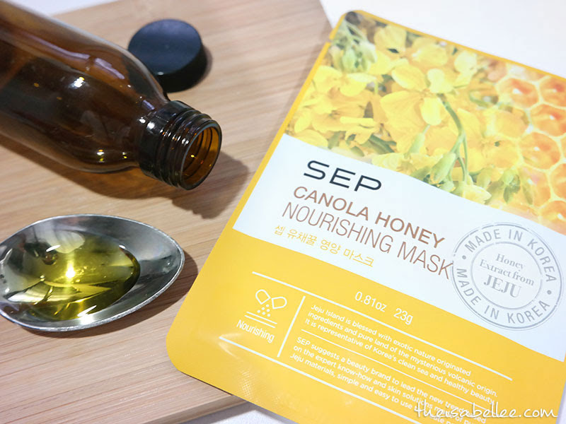 SEP Canola Honey Nourishing Mask