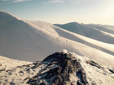 Nome Alaska ski Nome Teller Road hill