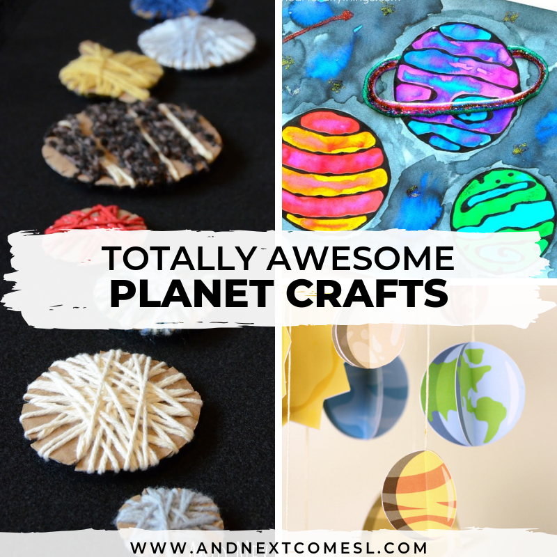 Advertisement some of the most interesting objects in our solar system are also the smallest or la. The Best Planet Crafts For Kids Who Love Space And Next Comes L Hyperlexia Resources