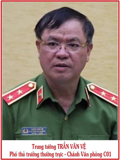 Trung tướng Trần Văn Vệ - đích nhắm quá chuẩn của tôi!