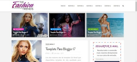 The Fashion Blogger Template