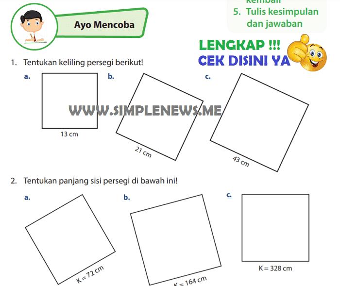Lengkap Kunci Jawaban Halaman 115 116 Kelas 4 Senang Belajar Matematika Kurikulum 2013 Simple News Kunci Jawaban Lengkap Terbaru