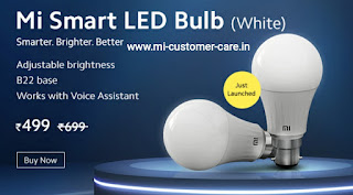 mi smart led bulb	mi smart led bulb price in india	mi smart led bulb price