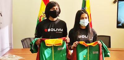 Deportistas bolivianos.