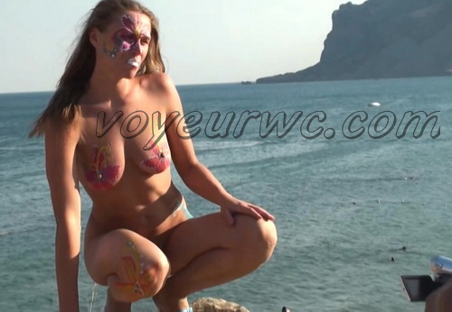 BeachHunters 20765-20856 (Beach spy cam is working and spying so many nude bodies of people)