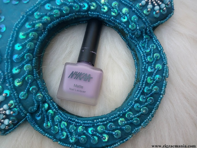 Nykaa Matte Nail Paint Lavender Panna Cotta Review