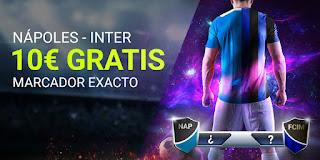 Luckia promocion Napoles vs Inter 6 enero 2020