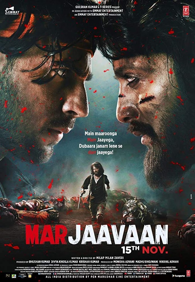 Marjaavaan (2019) Hindi Movie 480p HDRip – [400MB]