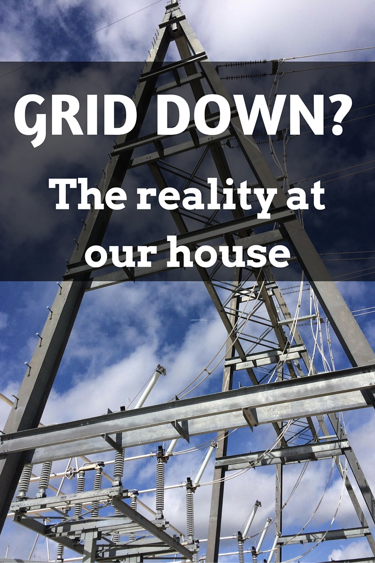 If the grid went down, what would the next day be like at our house?