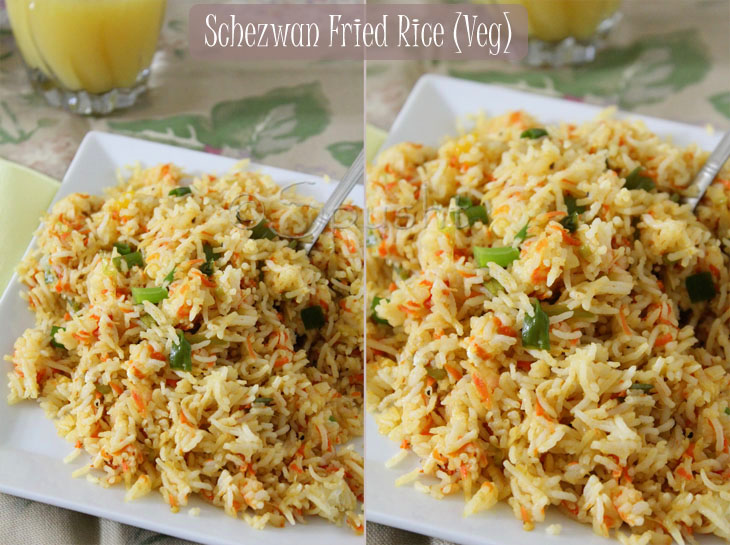Spusht: Szechwan Fried Rice: Indo - Chinese Food