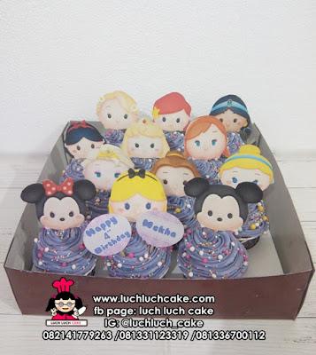 Tsum Tsum Disney Cupcake