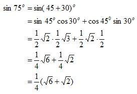 Rumus Trigonometri untuk Jumlah Dua Sudut dan Selisih Dua ...