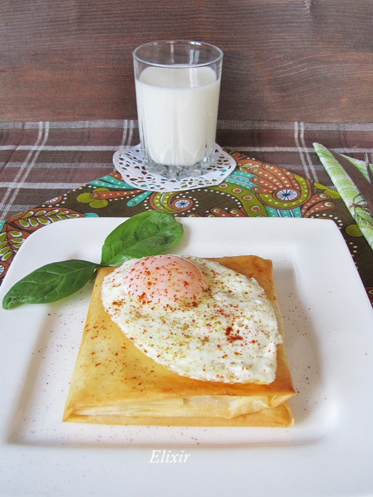 банички Крок Мадам / Filocroque Madame